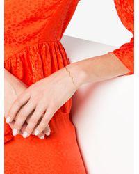 Sabine G - Metallic Chained Wave Bracelet - Lyst