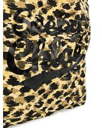 See By Chloé - Multicolor Leopard Print Logo Tote Bag - Lyst