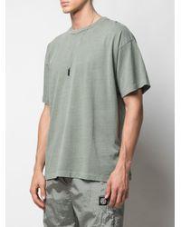 メンズ John Elliott オーバーサイズ Tシャツ Green