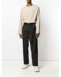 WWWM ジップディテール セーター Natural