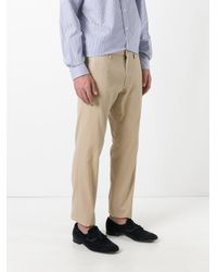 Polo Ralph Lauren | Natural Cropped Chinos for Men | Lyst