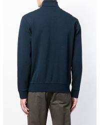 Polo Ralph Lauren Blue Quarter Zip Sweatshirt for men