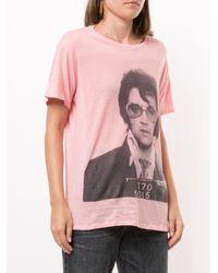 R13 Elvis Tシャツ Pink