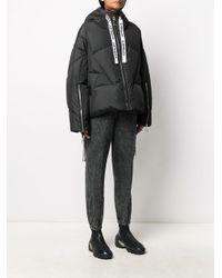 Khrisjoy ロゴ パデッドジャケット Black