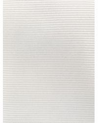メンズ Dell'Oglio クラシック ネクタイ White