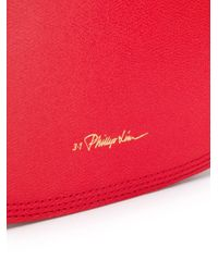 Полукруглая Сумка Pashli 3.1 Phillip Lim, цвет: Red