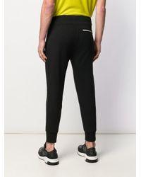 Pantalon de jogging à poches zippées Neil Barrett pour homme en coloris Black