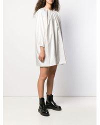 The Row シフトドレス White