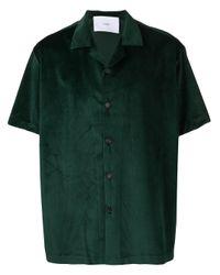 メンズ Goodfight ボーリングシャツ Green