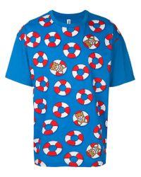 Moschino - Blue Swim T-shirt for Men - Lyst