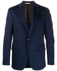 メンズ Canali テーラードジャケット Blue