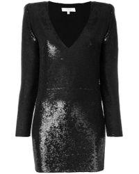 IRO Black Sequin Embellished Dress