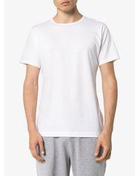 メンズ Sunspel ショートスリーブ Tシャツ White