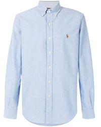 Ralph Lauren Klassisches Hemd in Blue für Herren