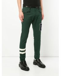 Undercover - Green Skinny Embellished Trousers for Men - Lyst