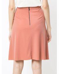 Osklen - Pink Flare Skirt - Lyst