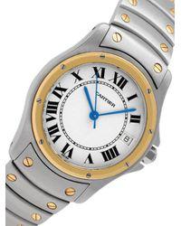 Reloj Santos 1910 de 33mm 1985 pre-owned Cartier de color Metallic