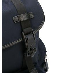 Sac à dos à poches multiples Giorgio Armani pour homme en coloris Blue