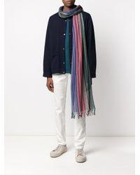 Écharpe à rayures Missoni pour homme en coloris Blue