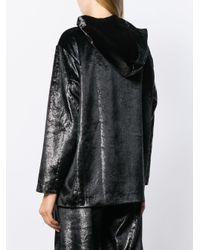 Felpa con zip di Love Moschino in Black