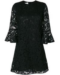 Valentino Black Heavy Lace Dress