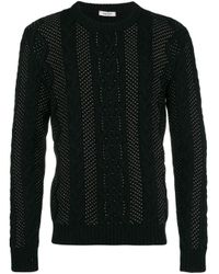 Maglione con micro perline di Valentino in Black da Uomo