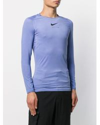 メンズ 1017 ALYX 9SM ロゴ Tシャツ Blue