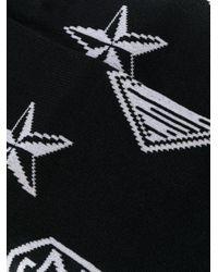 メンズ KTZ モノグラム靴下 Black