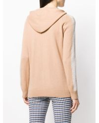 N.Peal Cashmere ジップアップ パーカー Natural