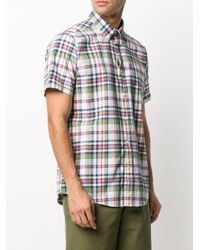 メンズ Barbour チェック シャツ Multicolor