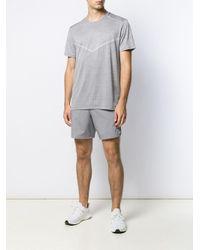 メンズ Nike Techknit Ultra Tシャツ Gray