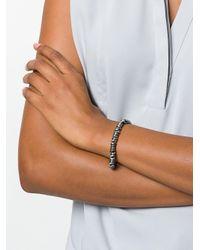 M. Cohen Metallic Beaded Bracelet
