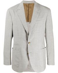 メンズ Brunello Cucinelli テーラードジャケット Gray