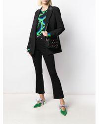 Sophia Webster Flossy Embellished Camera Bag Black