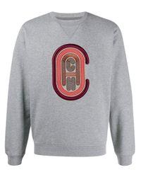メンズ COACH ロゴ スウェットシャツ Gray