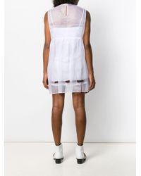 Miu Miu リボンディテール ドレス White