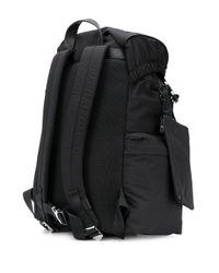 メンズ Emporio Armani ドローストリング バックパック Black