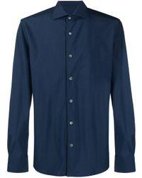 Camicia di Corneliani in Blue da Uomo