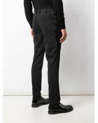 Pantalones chinos slim Neil Barrett de hombre de color Black