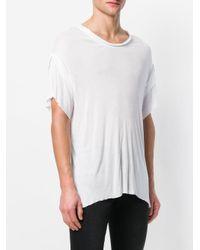 Di Liborio - White Oversized T-shirt for Men - Lyst