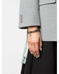 Loree Rodkin ダイヤモンド ブレスレット 14kホワイトゴールド Multicolor