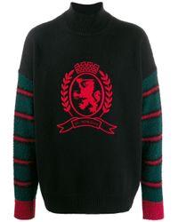 メンズ Tommy Hilfiger エンブロイダリー セーター Multicolor