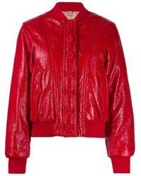 N°21 ボンバージャケット Red
