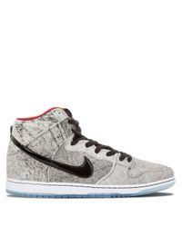 Baskets montantes Dunk Premium SB Caoutchouc Nike pour homme en ...
