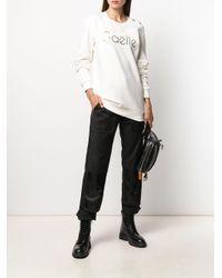 Gaëlle Bonheur Panna Tシャツ White