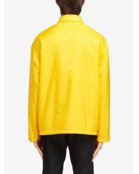 メンズ Prada Re-nylon ジャケット Yellow