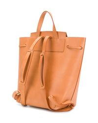 Mansur Gavriel - Multicolor Flap Backpack - Lyst