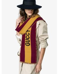 Gucci ロゴスカーフ Purple