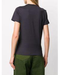 COACH Kaffe Rexy 刺繍 コットンtシャツ Black