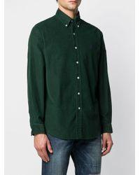 Camicia a coste di Polo Ralph Lauren in Green da Uomo